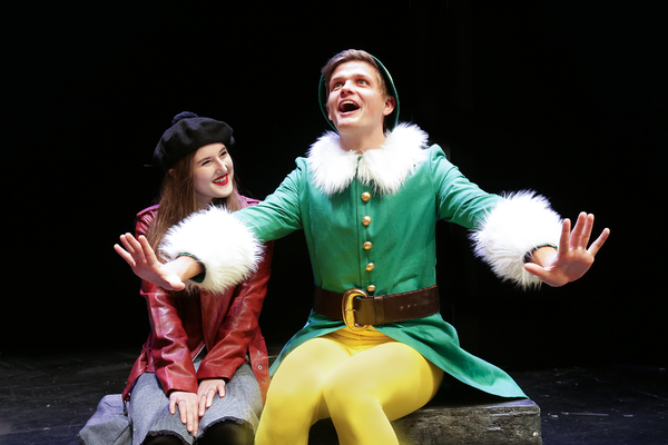 Photo Flash: Des Moines Playhouse Spreads Christmas Cheer With ELF