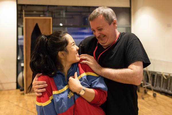 Ericka Posadas and Shaun Prendergast