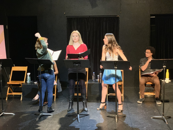 Photo Flash: BFF Receives Staged Reading