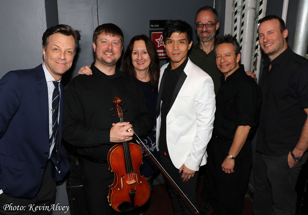 Jim Caruso, JJ Johnson, Mary Ann McSweeney, Telly Leung, Gary Adler, Brian Koonin, Mi Photo