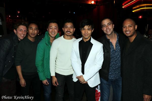 Leo Ash Evens, Tai Nakladda, Bryan Huang, Jan Erik Papa Navoa, Telly Leung, James Bab Photo