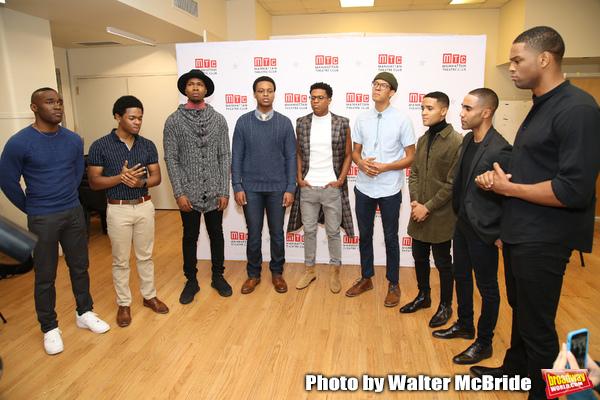 Gerald Caesar, Marcus Gladney, John Clay, J. Quinton Johnson, Jeremy Pope, Caleb Eber Photo
