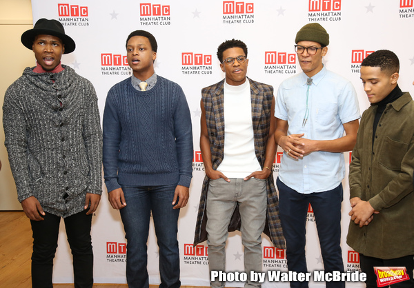 John Clay, J. Quinton Johnson, Jeremy Pope, Caleb Eberhardt and Nicholas L. Ashe  Photo