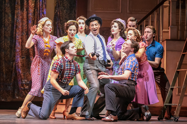 Photo Flash: Have A Happy Holiday At HOLIDAY INN At Paper Mill Playhouse