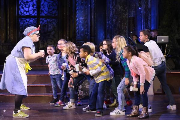 Ryann Redmond and Broadway Dreams. Students