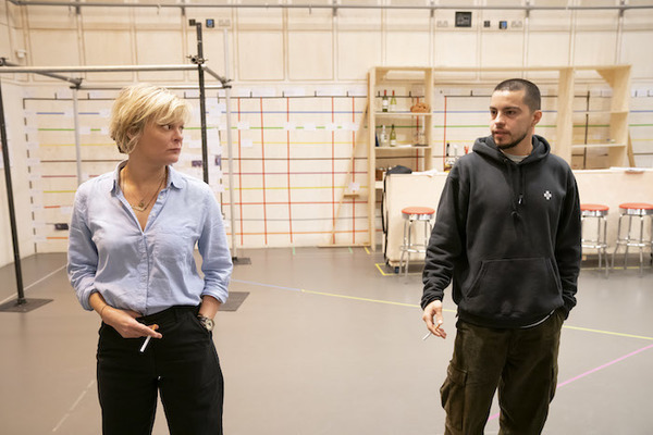 Photo Flash: First Look at SWEAT In Rehearsal at Donmar Warehouse