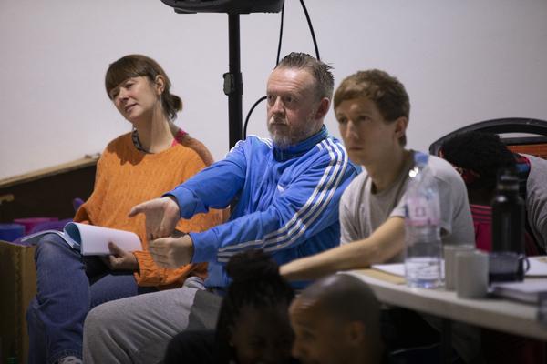 Emma-Jane Goodwin, Sean McKenzie, and Sam Newton Photo