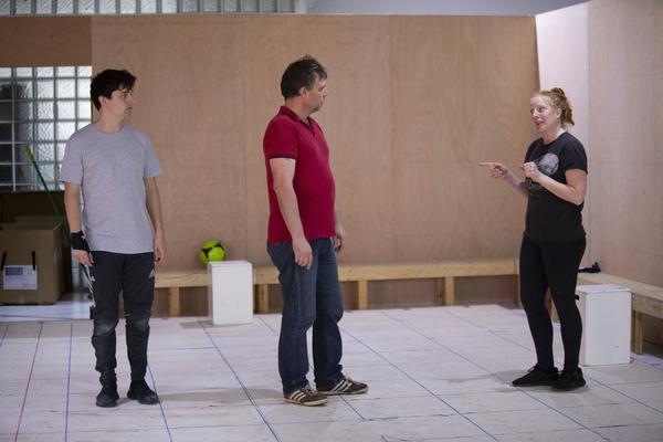 Joshua Jenkins, Stuart Laing, and Eliza Collings Photo