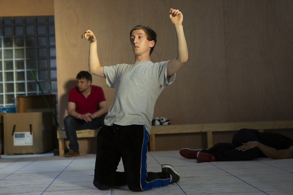 Photo Flash: Inside Rehearsal For THE CURIOUS INCIDENT OF THE DOG IN THE NIGHT-TIME at the Piccadilly Theatre