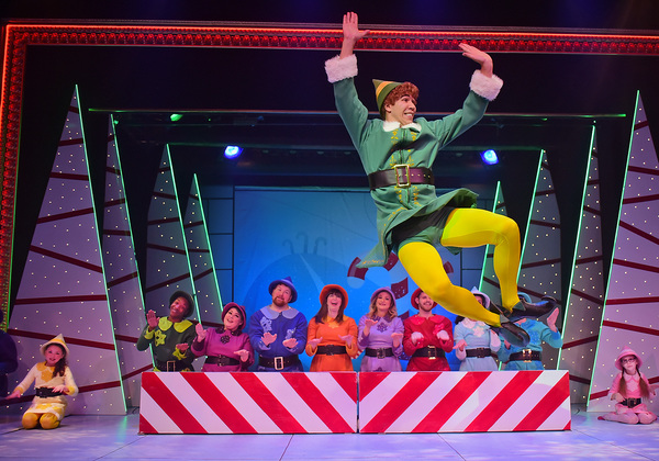 Photo Flash: ELF THE MUSICAL Brings Holiday Cheer To Beef & Boards!