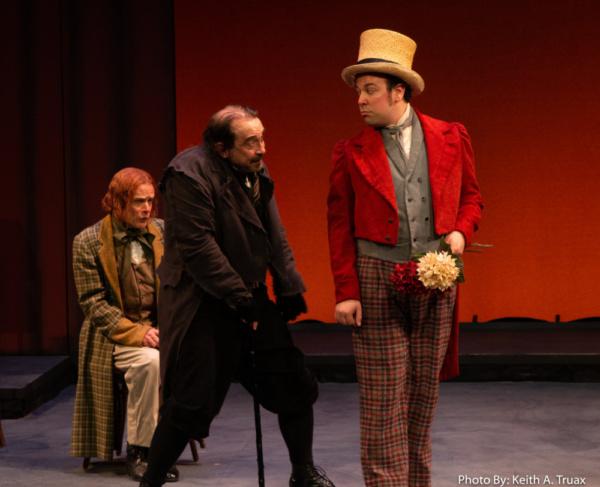 James FitzGerald, Martin Giles and Jordon Ross Weinhold Photo