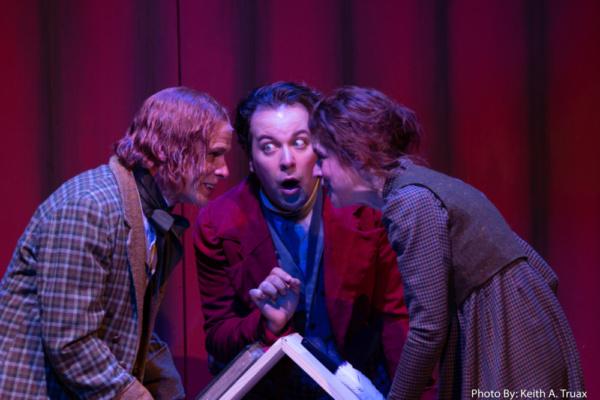 James FitzGerald, Jordon Ross Weinhold and Karen Baum Photo