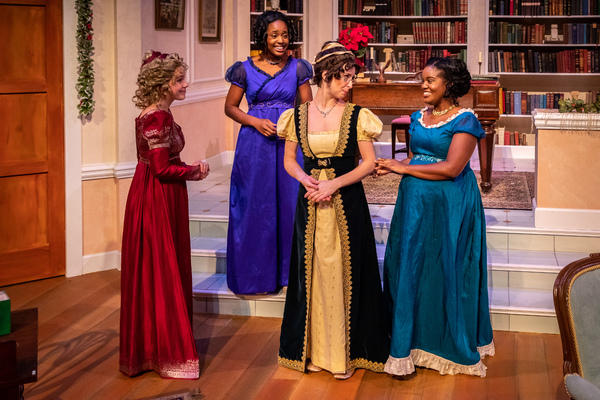 Devon Hales, Jasmine Thomas, Amelia Fischer and Jeanette Illidge Photo
