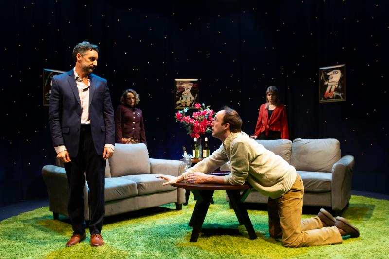 BWW Review: Do-overs and Debauchery in New Light Theater Project's Revival of LIFE x3