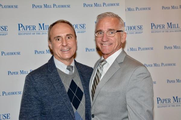 Larry Elardo and Mark S. Hoebee (Producing Artistic Director)