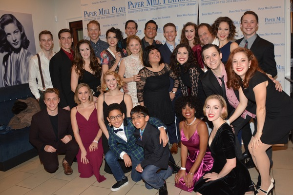 The Cast of Holiday Inn that includes-Aiden Alberto, Jordan Beall, Gene Biscontinim Colin Bradbury, Tricia DeSario, Paige Faure, Taylor Fields, Jordan Gelber, Kelly Gleason, Juliane Godfrey, Berklea Going, Ann Harada, Jian Harrell, Joshua Isreal, Julie Ka