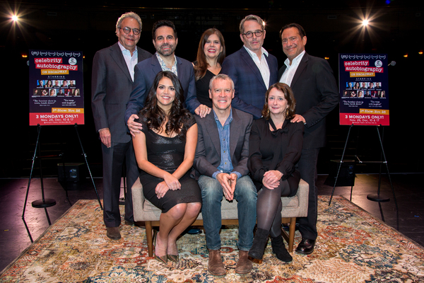Photo Coverage: Matthew Broderick, Rachel Dratch, and More Celebrate the First Performance of CELEBRITY AUTOBIOGRAPHY