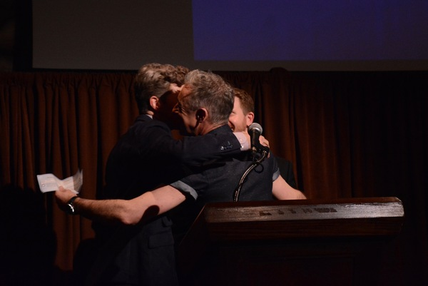Will Reynolds, Eric Price and Alan Cumming