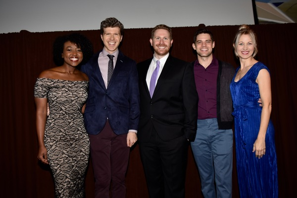 Aisha Jackson, Will Reynolds, Eric Price, Jeremy Jordan and Sara Jean Ford