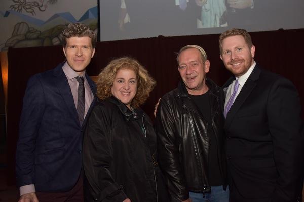 Will Reynolds, Mary Testa, Michael John Lachiusa and Eric Price