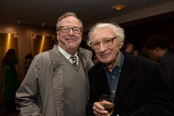 Edward Hibbert and Sheldon Harnick