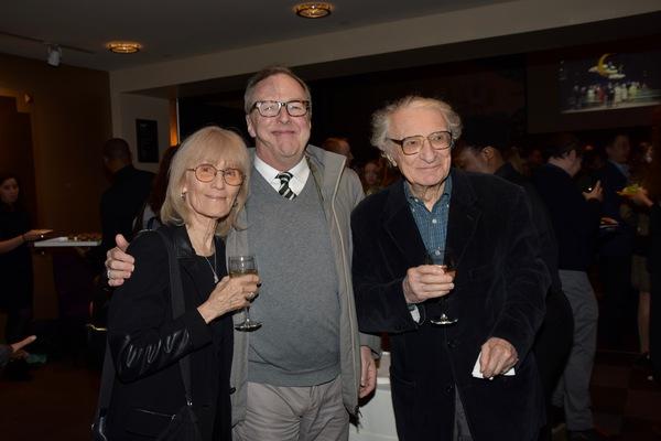 Margery Gray Harnick, Edward Hibbert and Sheldon Harnick