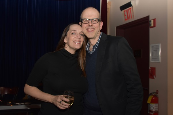 Julia Murney and Jeff Blumenkrantz