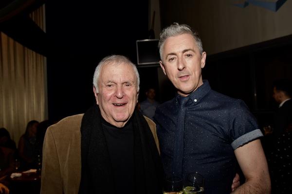 John Kander and Alan Cumming