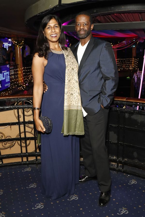 Lolita Chakrabarti and Adrian Lester