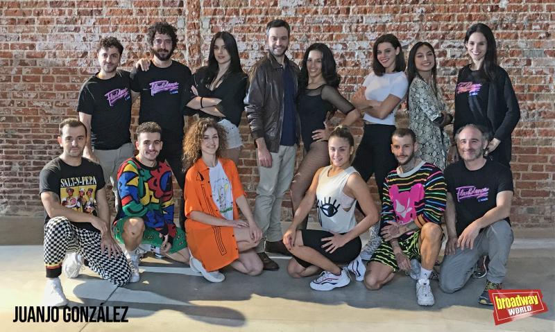 SELLADOOR presenta al elenco español de FLASHDANCE EL MUSICAL