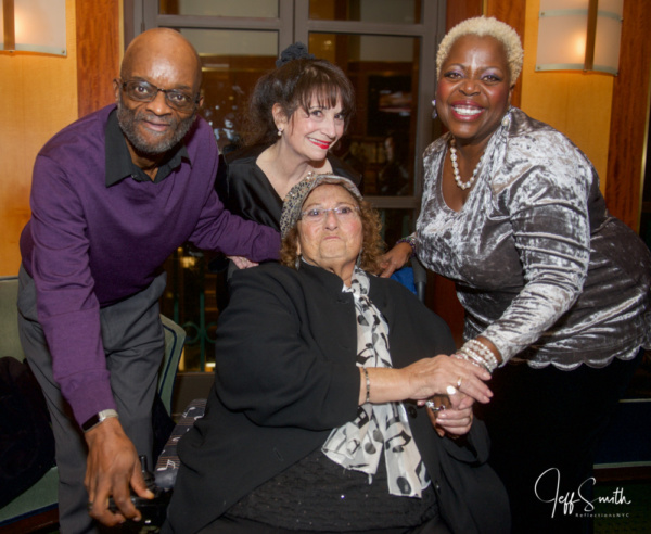 Musical Director Timothy Graphenreed, Eileen Bluestone Sherman, Lillias White and Gail C. Bluestone