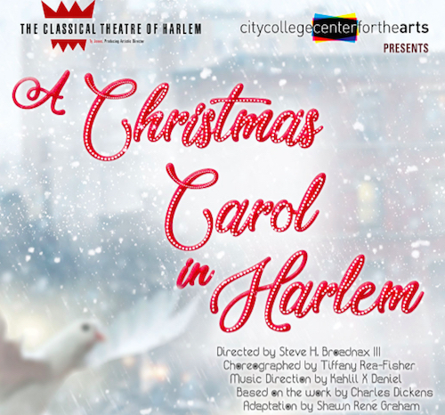 Limited Run! A Christmas Carol in Harlem now playing through December 8th! Get your tickets now!