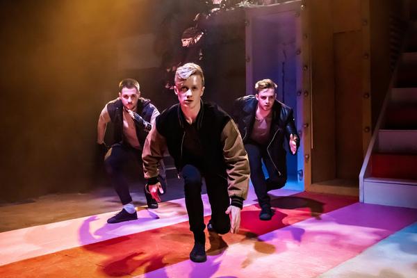 Robbie Fell, Adam Dawson and Rhys Benjamin Photo