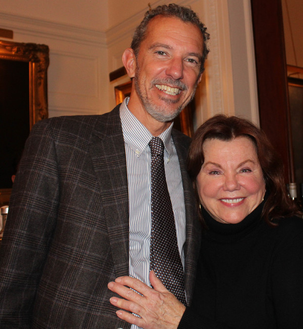 Alexander Fraser and Marsha Mason Photo
