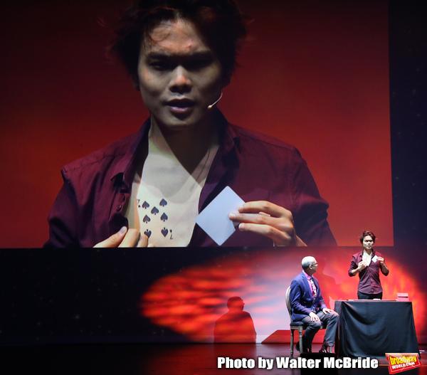 """Journalist Richard Ridge with Shin Lim, """"The Manipulator"""""""