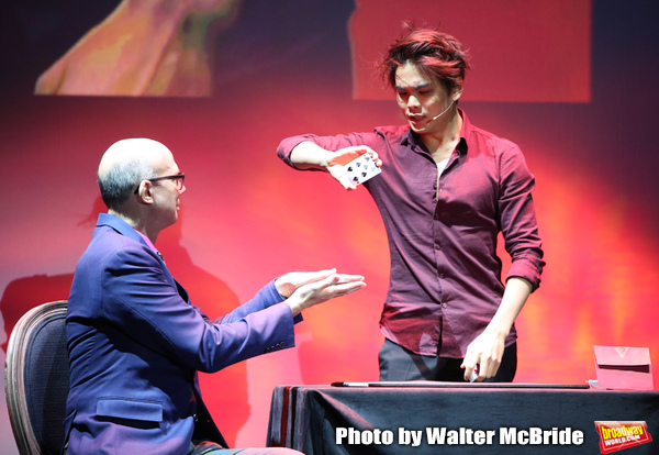 """Journalist Richard Ridge with Shin Lim, """"The Manipulator"""" Photo"""