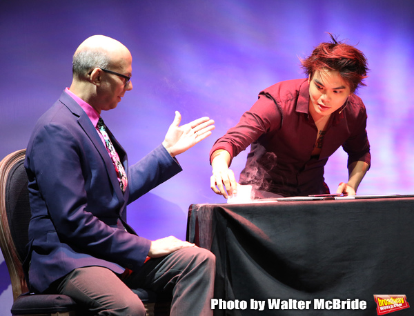 "Journalist Richard Ridge with Shin Lim, ""The Manipulator"""