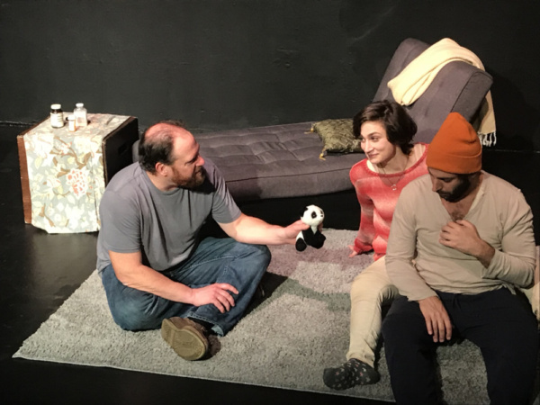 Photo Flash: The Soho Playhouse Presents The New York Premiere Of Kerry Kazmierowicztrimm's WOUNDED