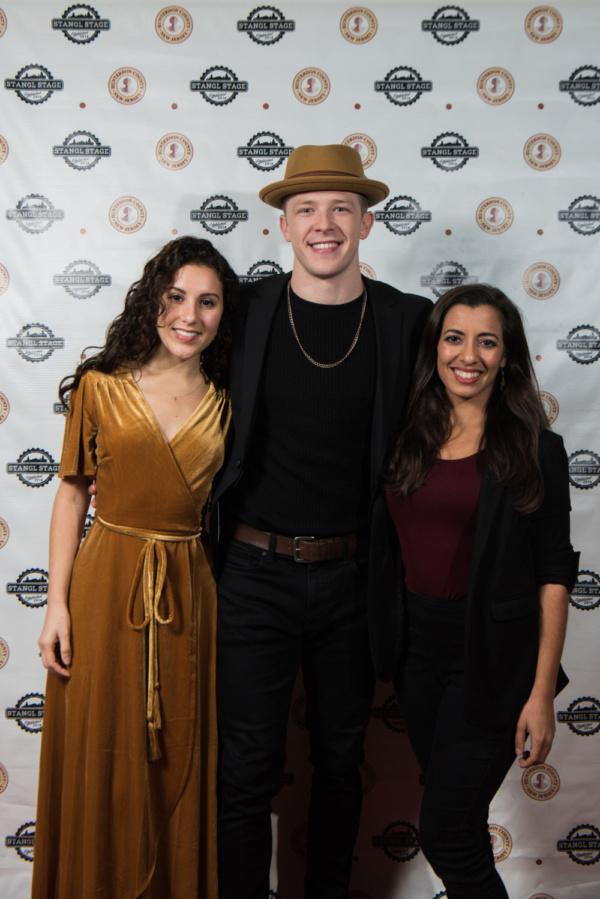 Raquel Nobile, Kevin Csolak and Michelle Rofrano Photo
