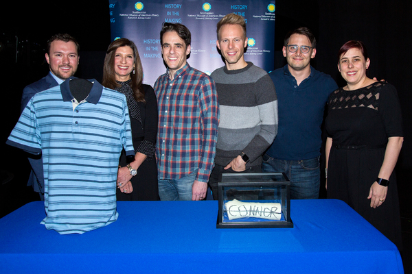 Photo Coverage: DEAR EVAN HANSEN Celebrates Two Years On Broadway With Donation to the Smithsonian