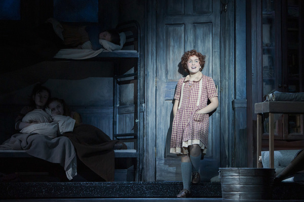 Faith Young alternates the title role in Annie