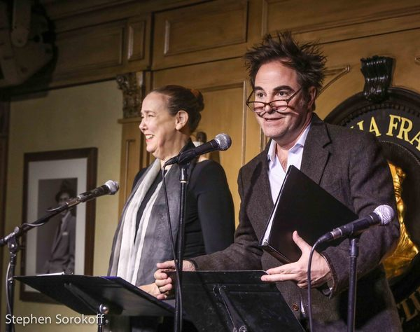 Harriet Harris & Roger Bart