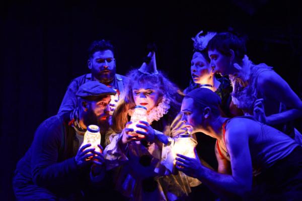 Photo Flash: The Holiday Hit BURNING BLUEBEARD Returns at The Neo-Futurist Theater