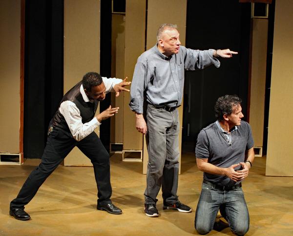 Dathan B. Williams, Ron Wisniski, Scott Ahearn Photo