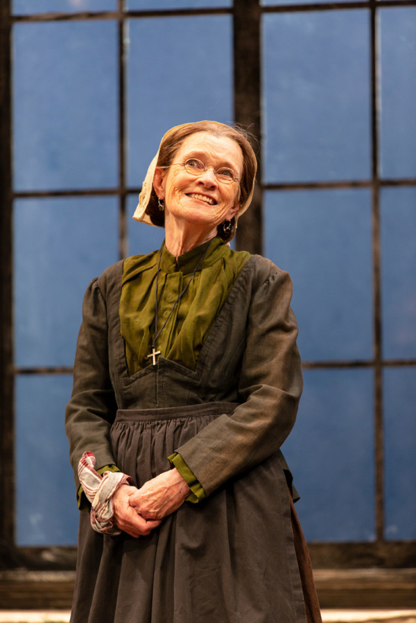 Ann McDonough in A Doll's House, Part 2 by Lucas Hnath at George Street Playhouse, November 27 thru December 27. Photo by T. Charles Erickson.
