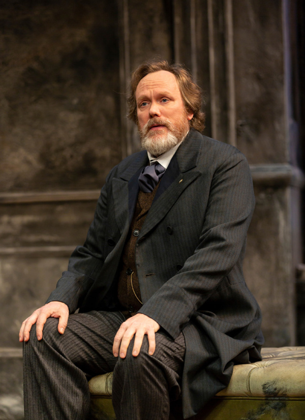 Andrew Garman in A Doll's House, Part 2 by Lucas Hnath at George Street Playhouse, No Photo