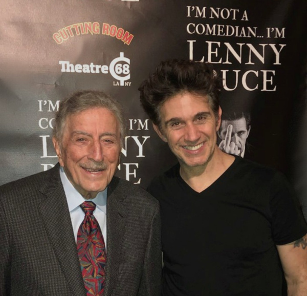 Tony Bennett, Ronnie Marmo Photo