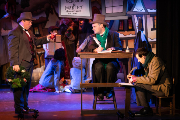 Photo Flash: A Decade Of Dickens  - A CHRISTMAS CAROL The Musical Begins Its 10th Year Off-Broadway