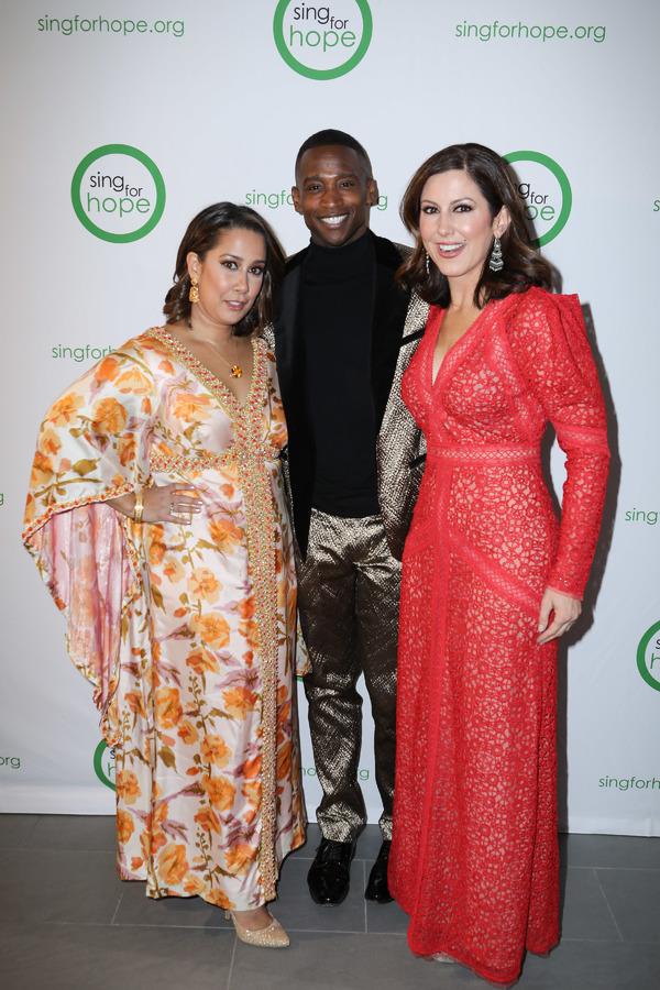 Monica Yunus, Jelani Remy, and Camille Zamora