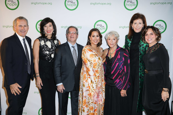 James Connors, Clarke Wolff, Tom Costanzo, Camille Zamora, Wei Bo, Linda Johnson, Danny Meyer, Margie Loeb, and Monica Yunus